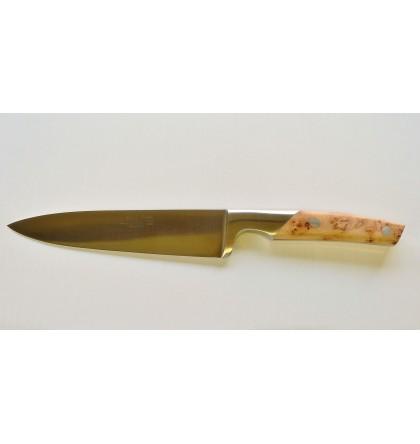 Couteau de cuisine 20 cm thiers cuisine bois de cade