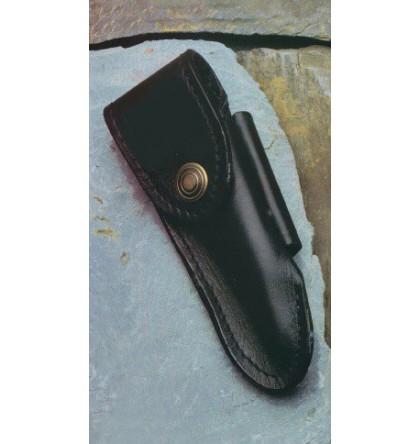 Etui cuir noir pour ceinture vertical ou horizontal