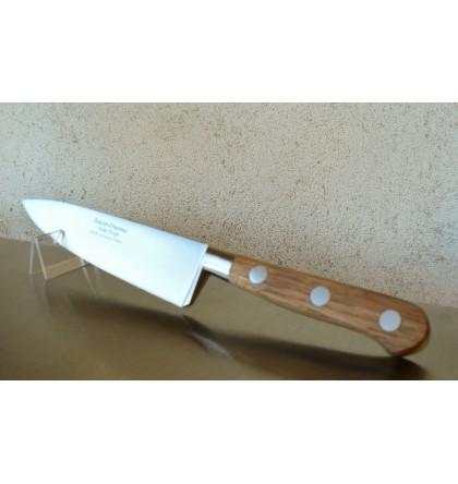 Couteau cuisine forgé 15 cm manche en chêne