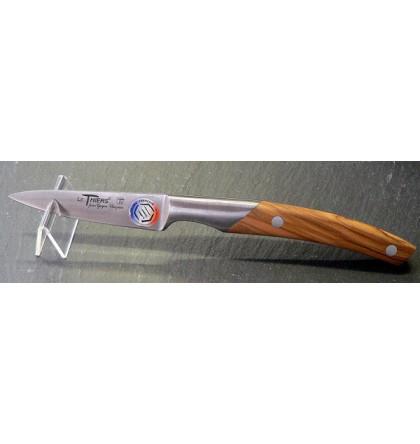 Couteau office 9 cm thiers cuisine bois d'olivier