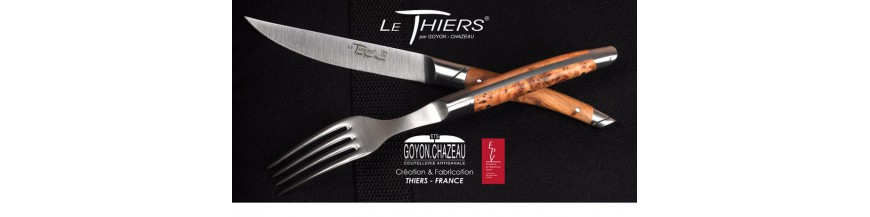<p>Specially designed for the town of Thiers, French capital for cutlery, 6 centuries of knive manufacturing tradition</p>