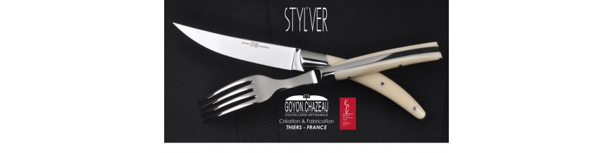 <p>Contemporary, fluid and ergonomic design. Styl'ver knives perfectly fits in hands.</p>
